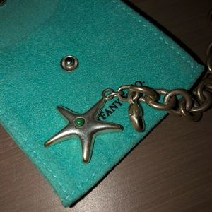 Silver Tiffany & Co Starfish bracelet